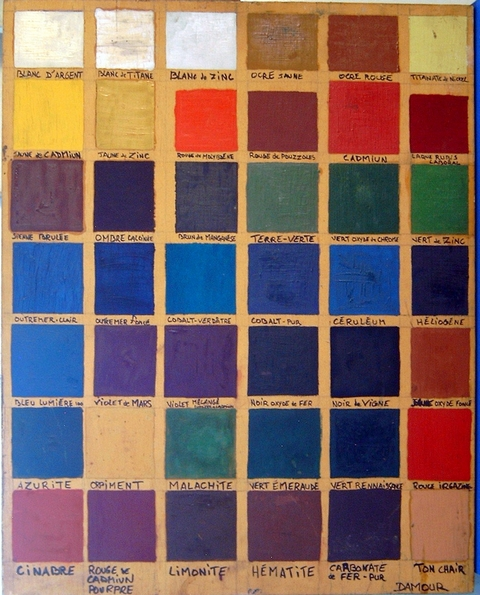 Pin peinture nuancier ral colorimax on pinterest for Peinture colours nuancier